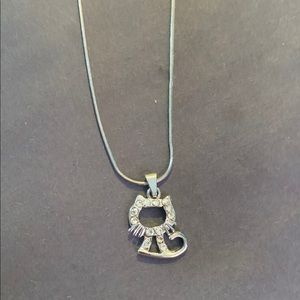 Hello Kitty 925 charm necklace